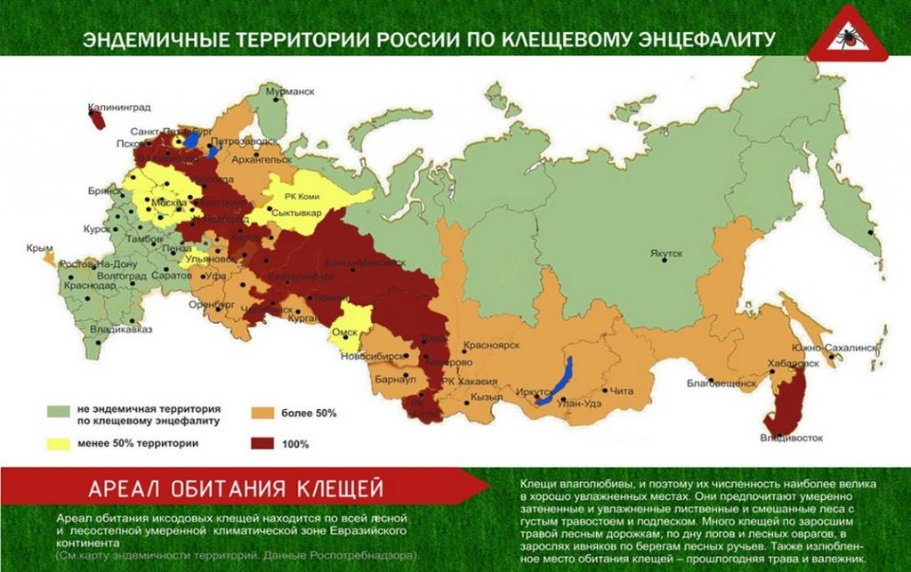 Самые опасные регионы России